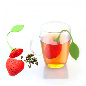 Silicone infuser tea