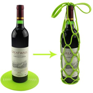 Silikon Wine Bottle Basket