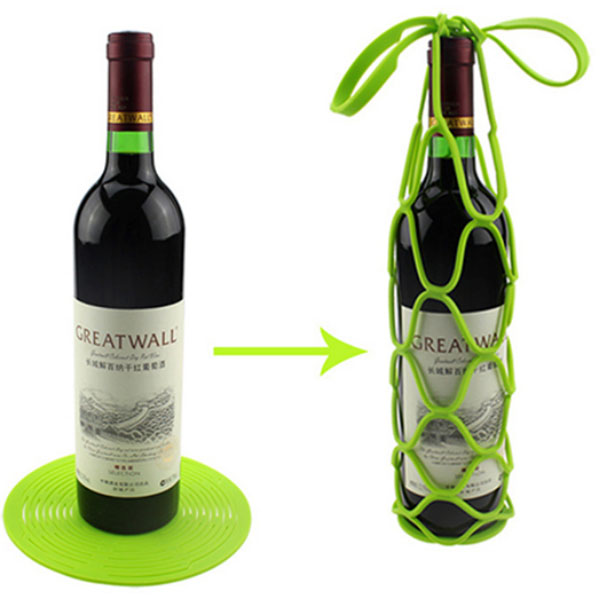 Silicone Wine Bottle Basket Featured Image